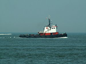Irbis - IMO 5184980 approaching Port of Rotterdam, Holland 18-Jun-2006.jpg