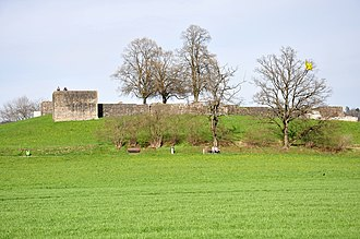 Irgenhausen Castrum - as seen from the south