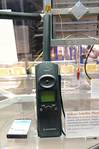 Satellite phone - Iridium satellite phone