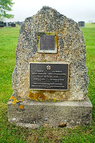 Isaac de Razilly - Isaac de Racilly Memorial in LaHave, Nova Scotia.
