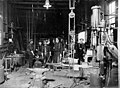 Isaacson Steel Mill interior showing workers and equipment, Seattle, probably between 1900 and 1910 (INDOCC 43).jpg
