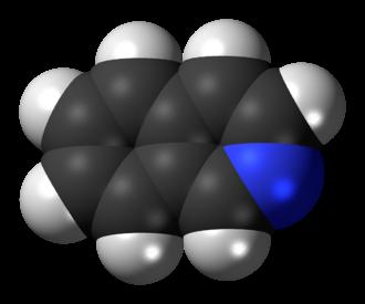 Isoquinoline - Image: Isoquinoline 3D spacefill
