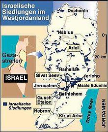 West Bank Jerusalem Gaza Streifen