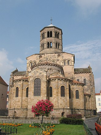 Issoire - Saint-Austremoine church.
