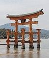 Itsukushima Floating Torii Gate, East view 20190417 1.jpg