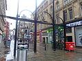 Ivegate gates, Ivegate, Bradford (8th November 2014).JPG