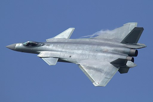 J-20 at Airshow China 2016
