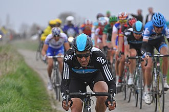 Juan Antonio Flecha - Flecha at the 2012 Paris–Roubaix