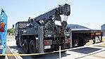 JASDF Towing Truck(Type 73 ougata Track, 47-2653) left rear view at Miho Air Base May 28, 2017.jpg