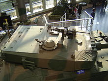 27d4fdc3ec0e The turret of the Type 90 at the JGSDF public information center. Note the  large bustle area for the autoloader