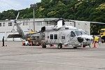 JMSDF SH-60K(8438) right front view at Maizuru Air Station May 18, 2019 01.jpg