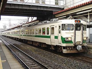 455 series Japanese train type