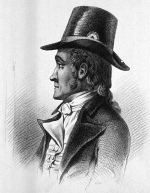 Jacques Philippe Raymond Draparnaud - Engraving of Draparnaud