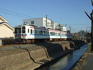 Ube Line railway line in Yamaguchi prefecture, Japan