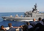 JS Hiei sails alongside USS Mustin in the Pacific, -10 Jun. 2010 a.jpg