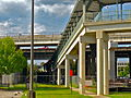 JTA Skyway Kings Avenue Station Walkway.JPG