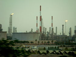 Skyline of Jubail