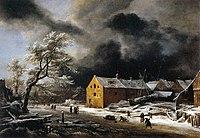 Jacob Isaacksz. van Ruisdael - Winter Landscape - WGA20516.jpg