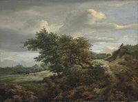 Jacob van Ruisdael - Dune Landscape with View of Haarlem d5813559a.jpg