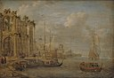 Jacobus Storck - Harbour Scene with Antique Ruins - KMS3054 - Statens Museum for Kunst.jpg
