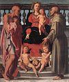 Jacopo Pontormo - Madonna and Child with Two Saints - WGA18094.jpg