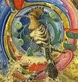Jacopo filippo argenta e fra evangelista da reggio, antifonario VI, 1481, 14,2 upupa.jpg