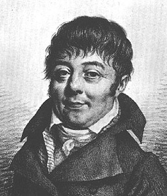 Jacques Labillardière - 1821 portrait of Labillardière