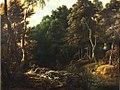 Jacques d'Arthois - Wooded landscape with a boar hunt.jpg