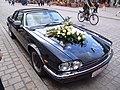 Jaguar XJ-SC, German temporary plate.jpg