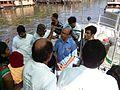 Jaisen Wiki Jalayathra 2013 Alappuzha Vembanad Lake8.jpg