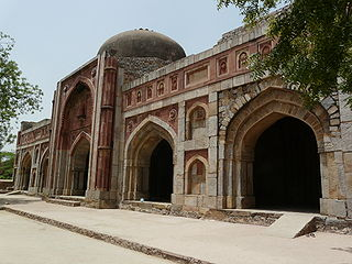 Jamali Kamali Mosque and Tomb A medieval mosque in Delhi associated with the myth of Jamali Kamali and djinns