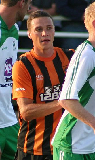 James Chester - Chester playing for Hull City in 2011