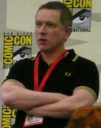 James Robinson (writer) - Robinson at the San Diego Comic-Con International 2010