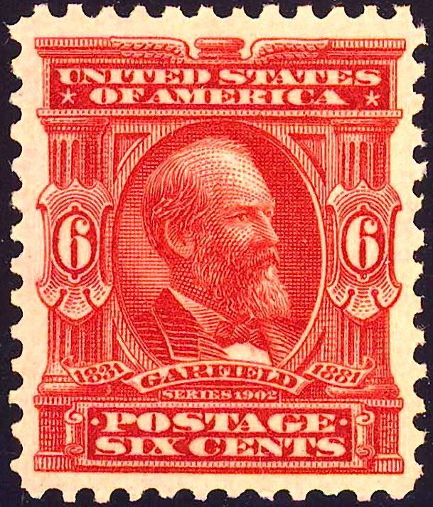 James Garfield 1902 Issue-6c