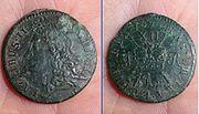 James II Gun Money , 12 One shilling 1960 (FindID 633624)