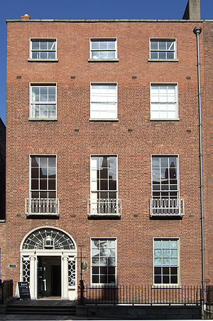James Joyce Centre - Image: James Joyce Centre at 35 Great George's Street