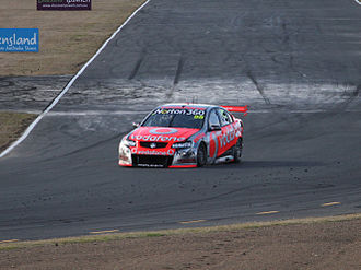 Triple Eight Race Engineering - The Holden VE Commodore of Jamie Whincup at Queensland Raceway.