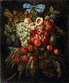 Jan Pauwel Gillemans (I) - Fruit garland with a blue ribbon 1.jpg