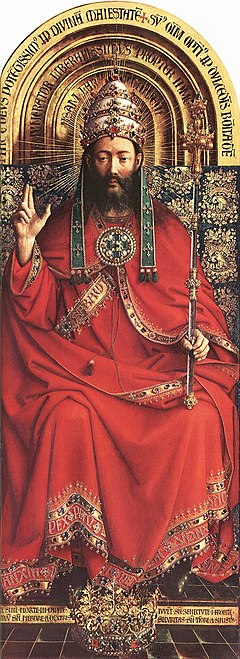 Jan van Eyck - The Ghent Altarpiece - God Almighty - WGA07630.jpg