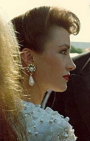 Jane Seymour at the 40th Emmy Awards, August, 1988