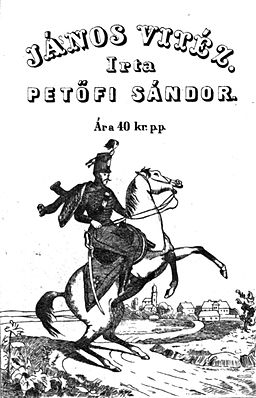Janos Vitez 1st ed cover