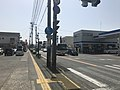 Japan National Route 212 on east side of Motomachi Crossroads.jpg