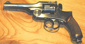 Type 26 revolver - Image: Japan Type 26 9mm pistol