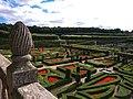 Jardins de Villandry, vue de la terrasse.jpg