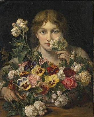 Jean-François Portaels - Image: Jean François Portaels Sweet flowers