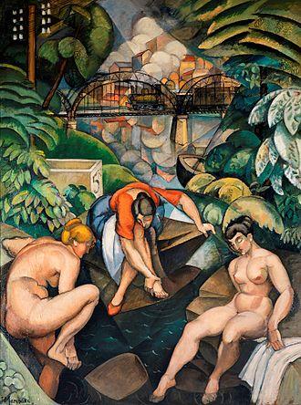Jean Marchand (painter) - Image: Jean Hippolyte Marchand, La Source, 1911