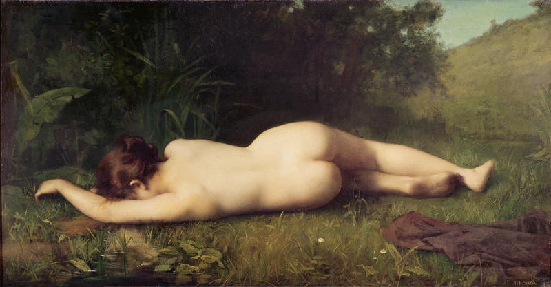 File:Jean-Jacques Henner - Byblis turning into a spring.jpg