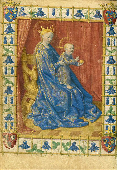 Bestand:Jean Fouquet (French, born about 1415 - 1420, died before 1481) - Hours of Simon de Varie - Google Art Project.jpg