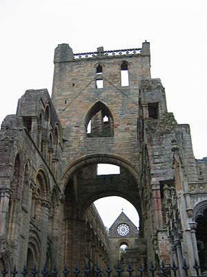 Borders Abbeys Way - Jedburgh Abbey