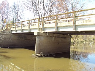 Jeddo Road–South Branch Mill Creek Drain Bridge